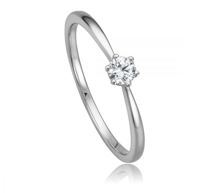 Ring Solitaire WG B108736-1-017ct