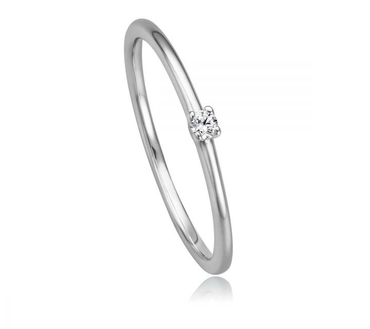 Ring Solitaire WG B108737-1-004ct