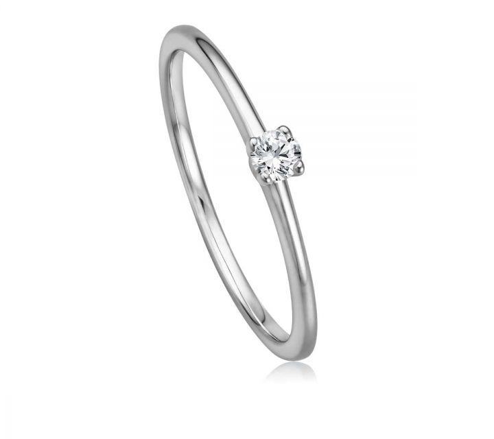 Ring Solitaire WG B108738-1-009ct