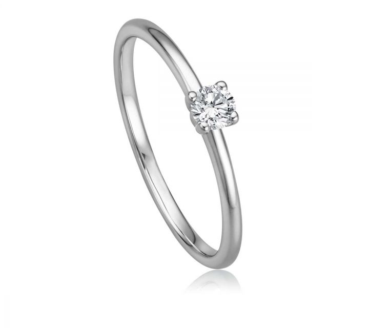 Ring Solitaire WG B108739-1-017ct