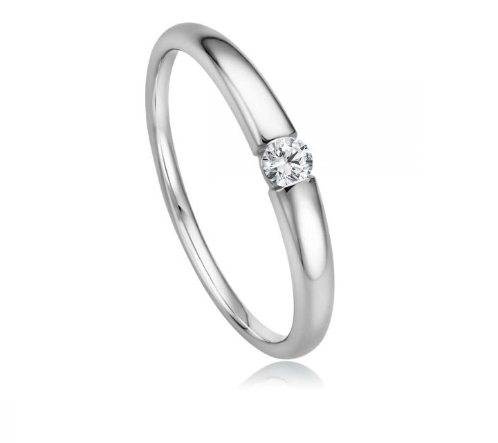 Ring Solitaire WG B108741-1-009ct