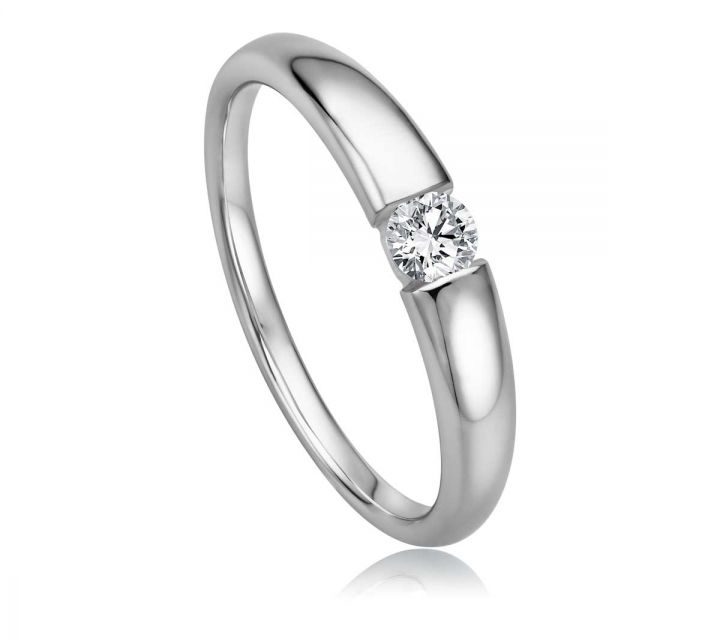 Ring Solitaire WG B108742-1-017ct
