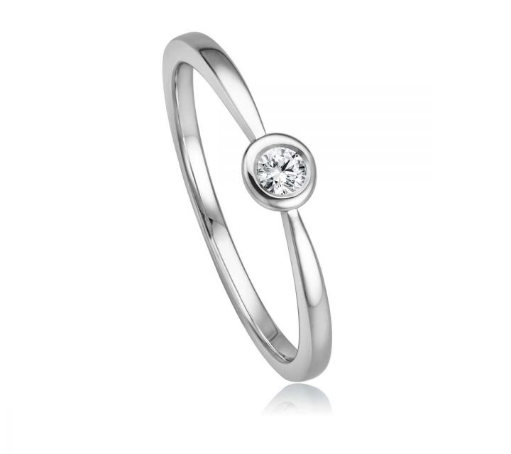 Ring Solitaire WG B108744-1-009ct