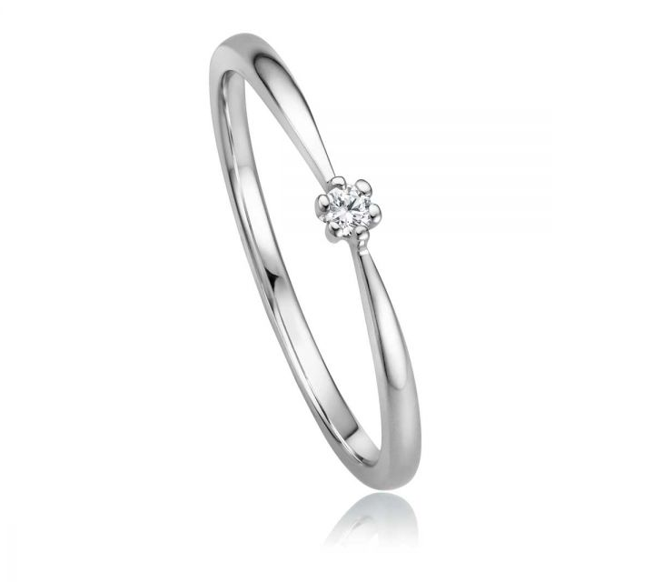 Ring Solitaire WG B108734-1-004ct