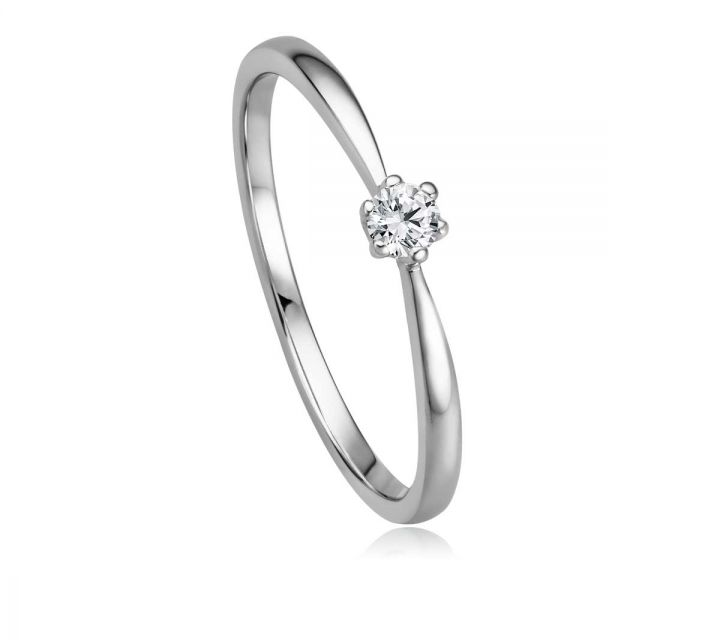 Ring Solitaire WG B108735-1-009ct