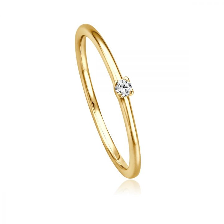 Ring Solitaire EH 4509