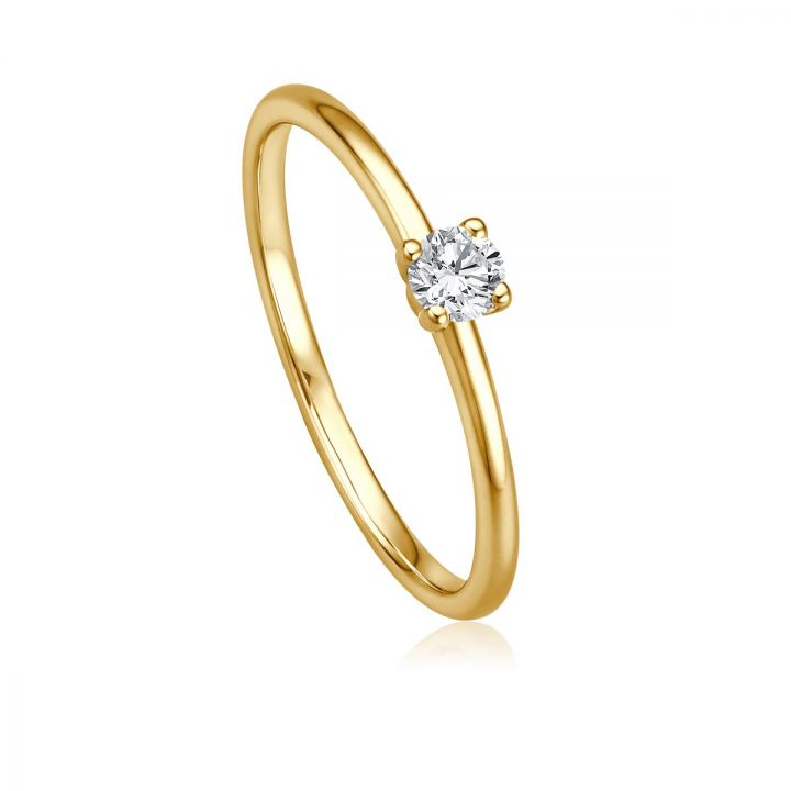Ring Solitaire EH 4511