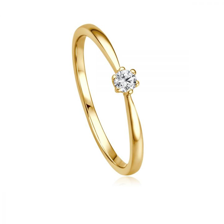Ring Solitaire EH 4513