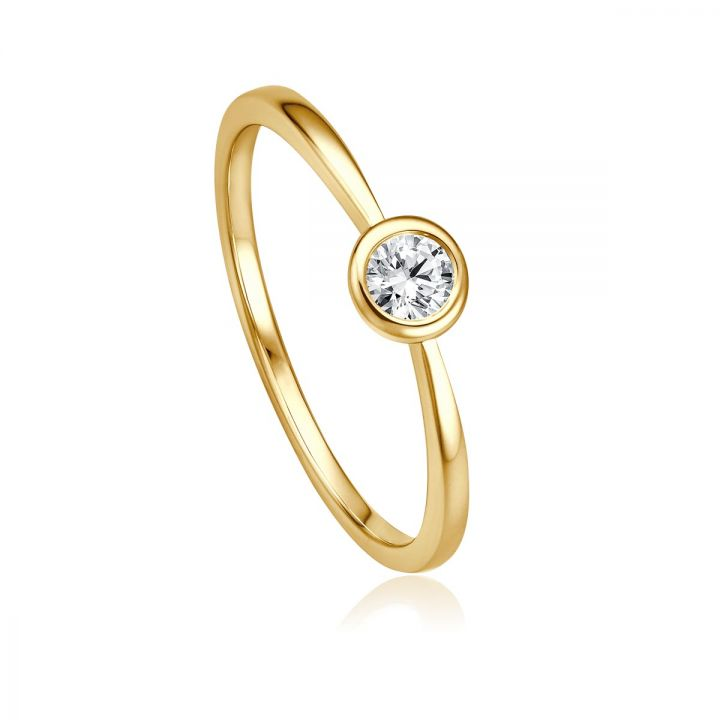 Ring Solitaire EH 4517