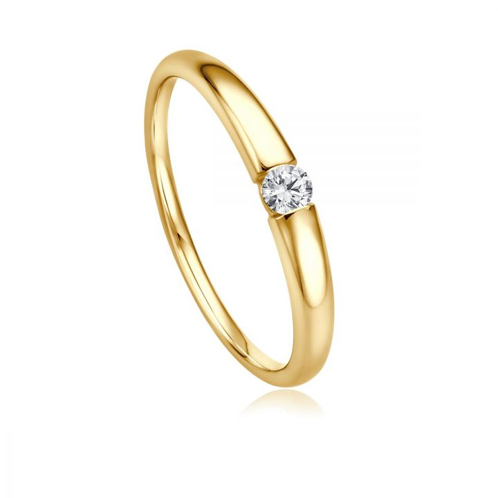 Ring Solitaire EH 4519