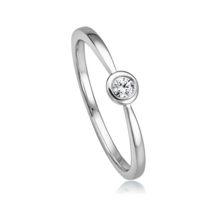 Ring Solitaire EH 4516